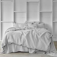 Linen Bedding Sets Linen Bed Sheet Set In Dove Linen Bedding Bed Linen And Linens