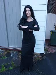 Morticia Addams Dress Morticia Addams Costume Bam Bam Costume Hire