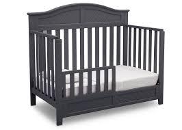 Baby Crib Convert Toddler Bed Bennington Elite Curved 4 In 1 Crib Delta Children