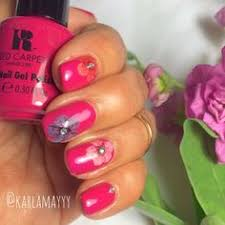 the perfect diy flower nail art tutorial for spring nail art