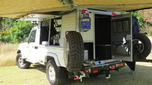 land cruiser pickup cabin toyota land cruiser single cab bushcamper camper south africa