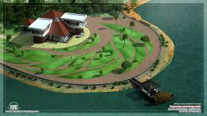 kerala home design villa unique lake side kerala villa elevation kerala home design floor