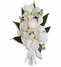 white corsages for prom prom corsages boutonnieres delivery pittsburgh pa harolds