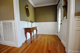 dress up your dismal dining room with wainscoting panels new