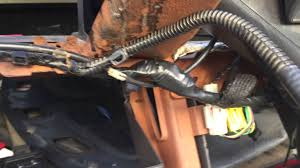 tip on how to remove dash frame on dodge ram 1500 2500 3500