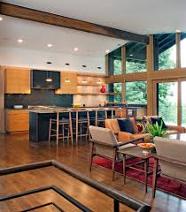 contemporary open floor plans contemporary open floor plan kitchen contemporary with clean