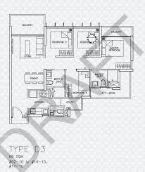 D3 Js Floor Plan Floor Plans For Tre Residences Condo Srx Property