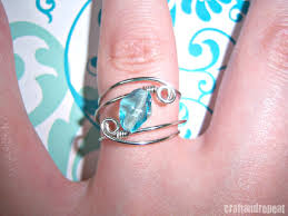 make wire rings images Wire wrapped ring free tutorial craftandrepeat jpg