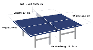 Beer Pong Table Size Standard Ping Pong Table Size Home Table Decoration