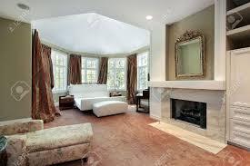 bedroom luxury master bedrooms with fireplaces medium travertine