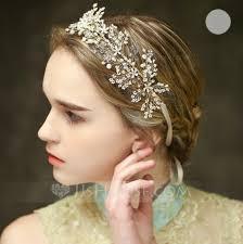 rhinestone headbands stunning wedding headbands for your wedding updo