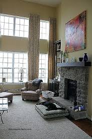 Family Room Curtains Two Story Family Room Curtains Two Story Window Curtains New 2