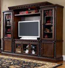 north shore traditional entertainment wall unit by millennium