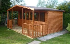 Gardens With Summer Houses - heavy duty made to measure sheds gates garden offices