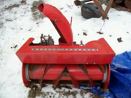 snow equipement lawn mower grave yard equipment used tractor