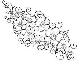 15 best flower tattoo stencil designs images on pinterest