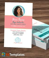 inspirational gallery of yoga business cards business cards