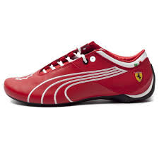ferrari shoes puma men u0027s ferrari future cat m1 sf tifosi rosso corsa white shoes