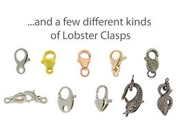 clasp necklace types images A detailed guide to jewelry clasps lobster clasps and spring jpg