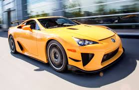 lexus yellow lexus exotic car search