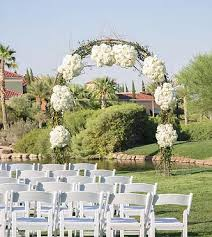 wedding arch las vegas wedding and event flowers las vegas weddings
