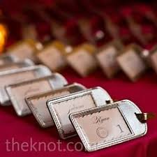 themed luggage tags luggage tags as favors this wedding favors