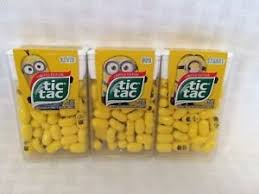 where to buy minion tic tacs minion tic tacs limited edition banana flavour brand new 24g all
