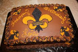 new orleans saints cake cakes by corrie pinterest saints