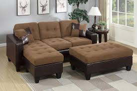Sofa And Sectional Brown Leather Sectional Sofa And Ottoman A Sofa Furniture