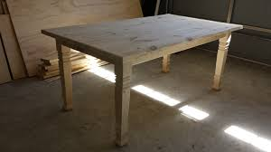 chunky farmhouse table legs the perfect farmhouse table with osborne square farm table legs