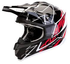 scorpion motocross helmets scorpion vx 15 air sprint cross helmet black white red