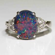 opal wedding ring image result for black opal engagement ring my style