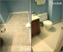 elegant painting bathroom tile floor