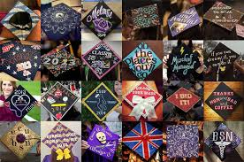 custom graduation caps easy grad cap decoration ideas personal creations