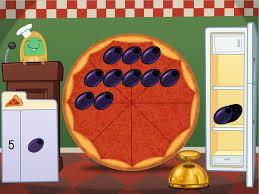 subtraction pizza party game game education com