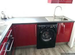 lave cuisine cuisine avec lave vaisselle lave linge dans cuisine meuble cuisine