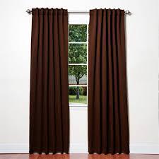 Burgundy Living Room Curtains Aleko 52x84 Black Out Curtain