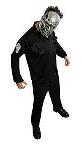 Halloween Costumes Mask Slipknot Maggots Rock Star Latex Costume Mask Slipknot