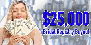 bridal registry company 25 000 bridal registry buyout 98 9 wclz
