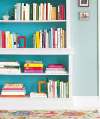 How To Make A Cheap Bookcase 22 Ways To Arrange Your Shelves Real Simple