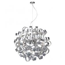ribbon pendant ceiling light contemporary aluminium ribbon ceiling pendant double insulated