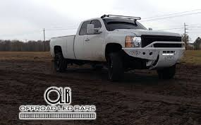 off road light bars 50 inch offroad led light bar complete set up for chevy and gmc trucks