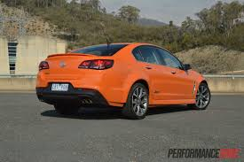 holden ssv 2014 holden vf commodore ssv rear