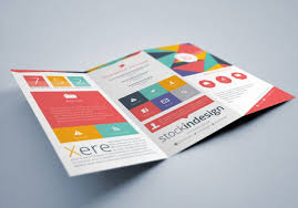 tri fold brochure template free download publisher professional