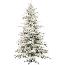 frosted christmas tree modern christmas trees allmodern