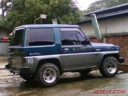 daihatsu feroza modifikasi daihatsu feroza se 2 warna 1995 mobil