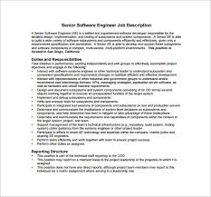 33 software developer job description template software engineer