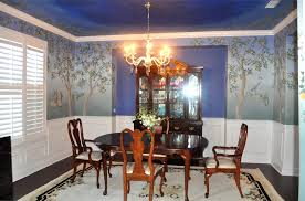 Dining Room Murals Murals Marsh Hawk Studio Llc
