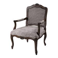 French Linen Armchair Marianne Arm Chair French Script 6071398 Occasional Chairs
