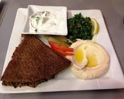 plat cuisiné au four plat du jour kebbé au four picture of samy s restaurant traiteur
